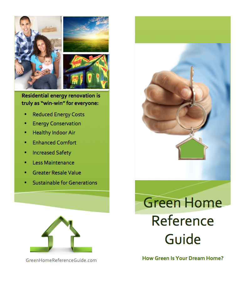 New site for green earth equities green home reference guide for Green home guide